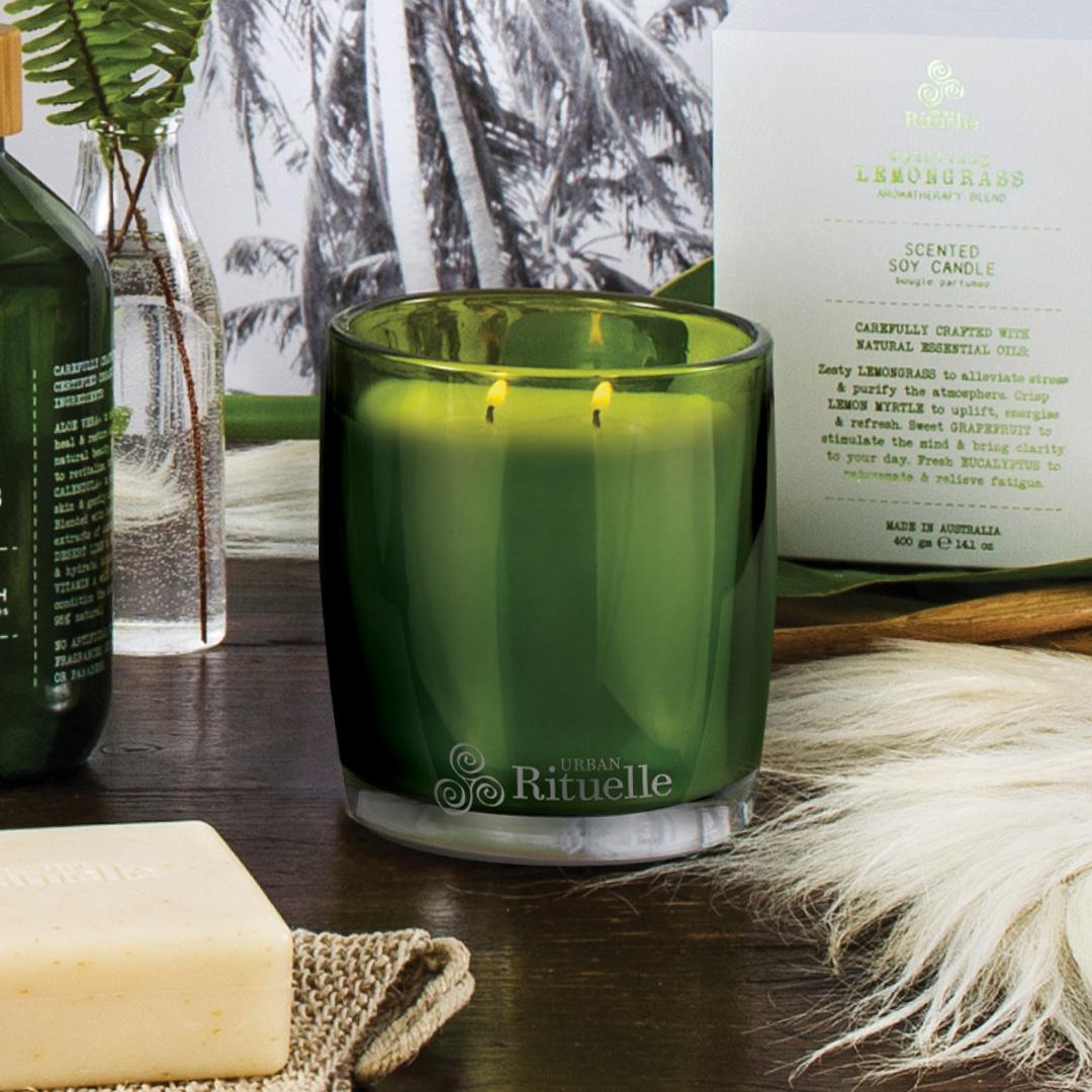 Flourish Organics Scented Soy Candle