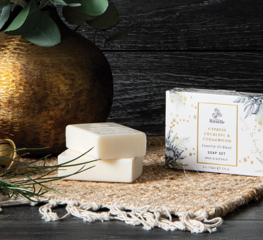 Festive Botanica Soap Set