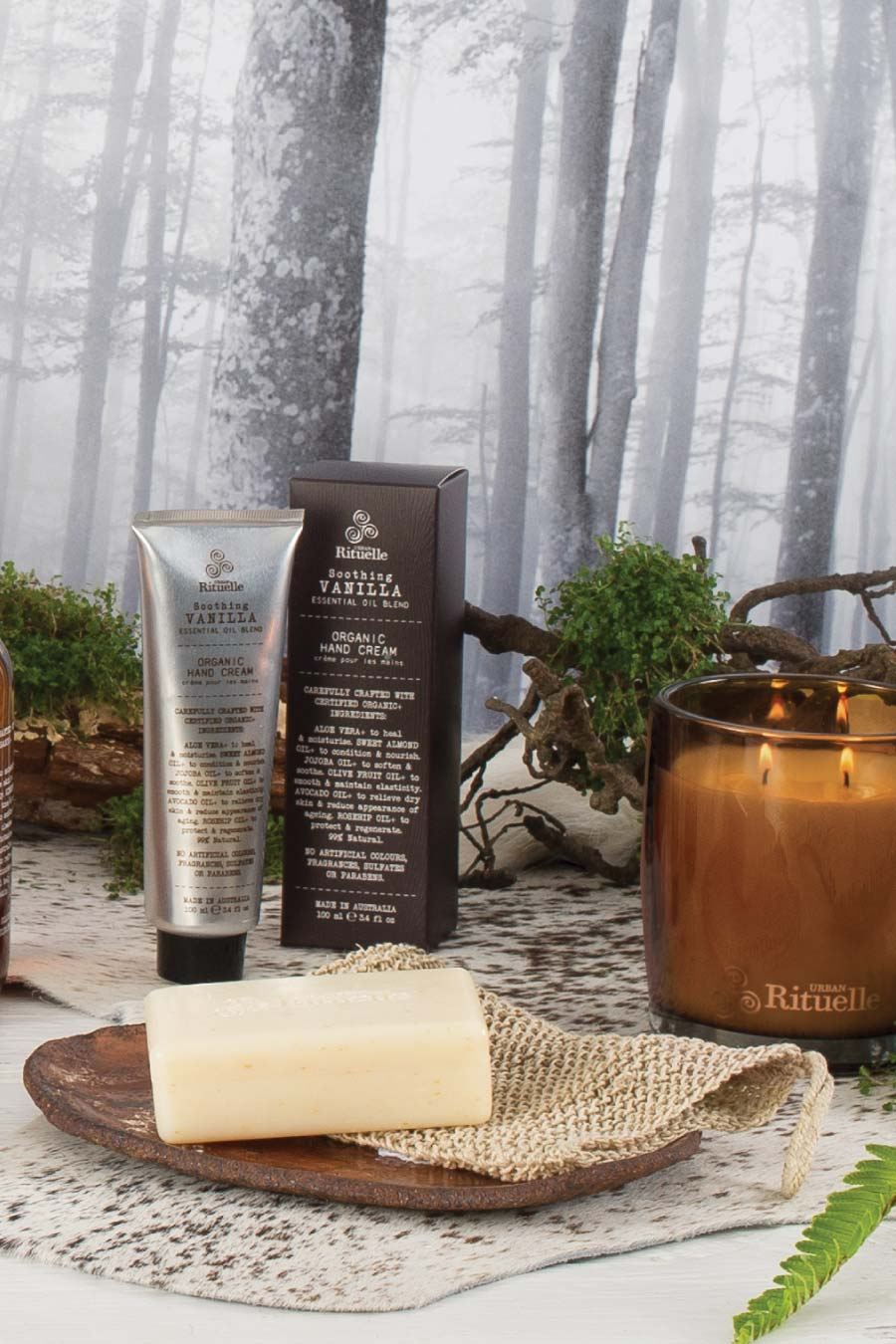 Flourish Organics Vanilla Hand Cream