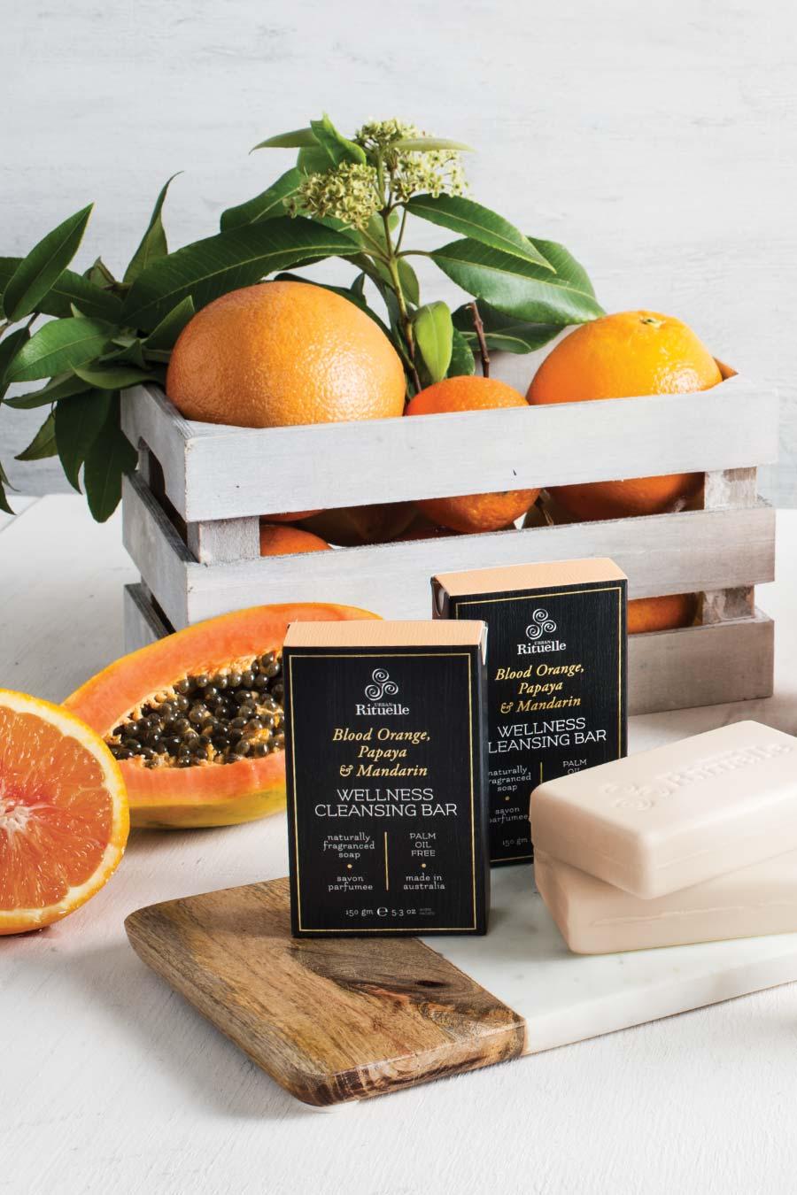 Harvest Blood Orange Wellness Cleansing Bar