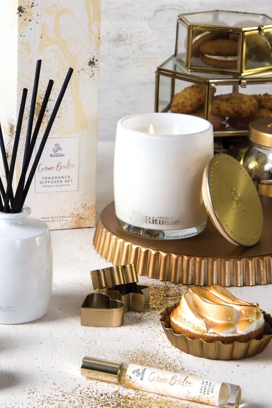 Sweet Treats Crème Brulee Fragrance Diffuser Set