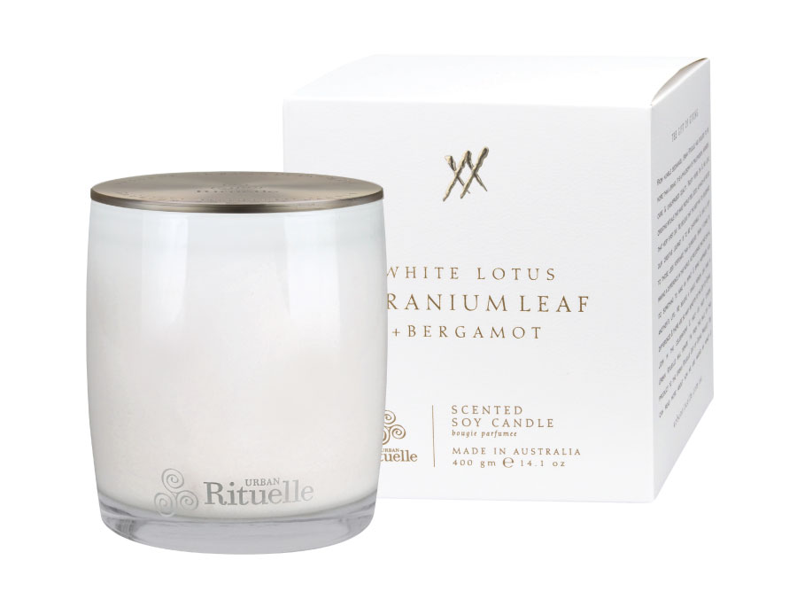 Alchemy White Lotus Candle