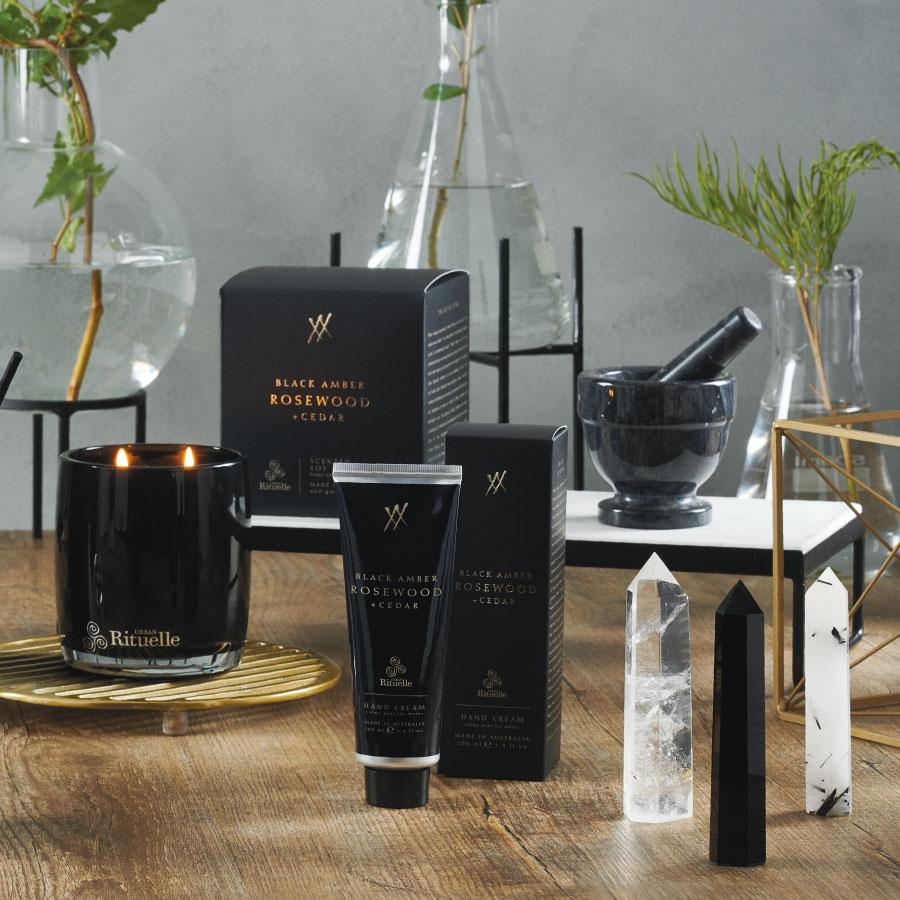 Alchemy: Black Amber, Rosewood & Cedar