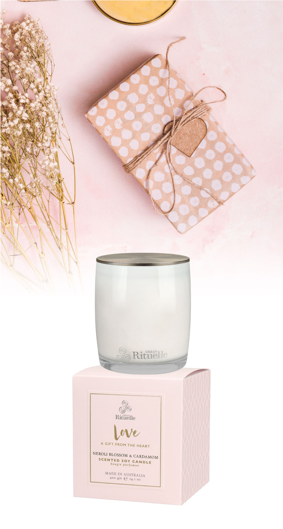Scented Offerings Love Scented Soy Candle