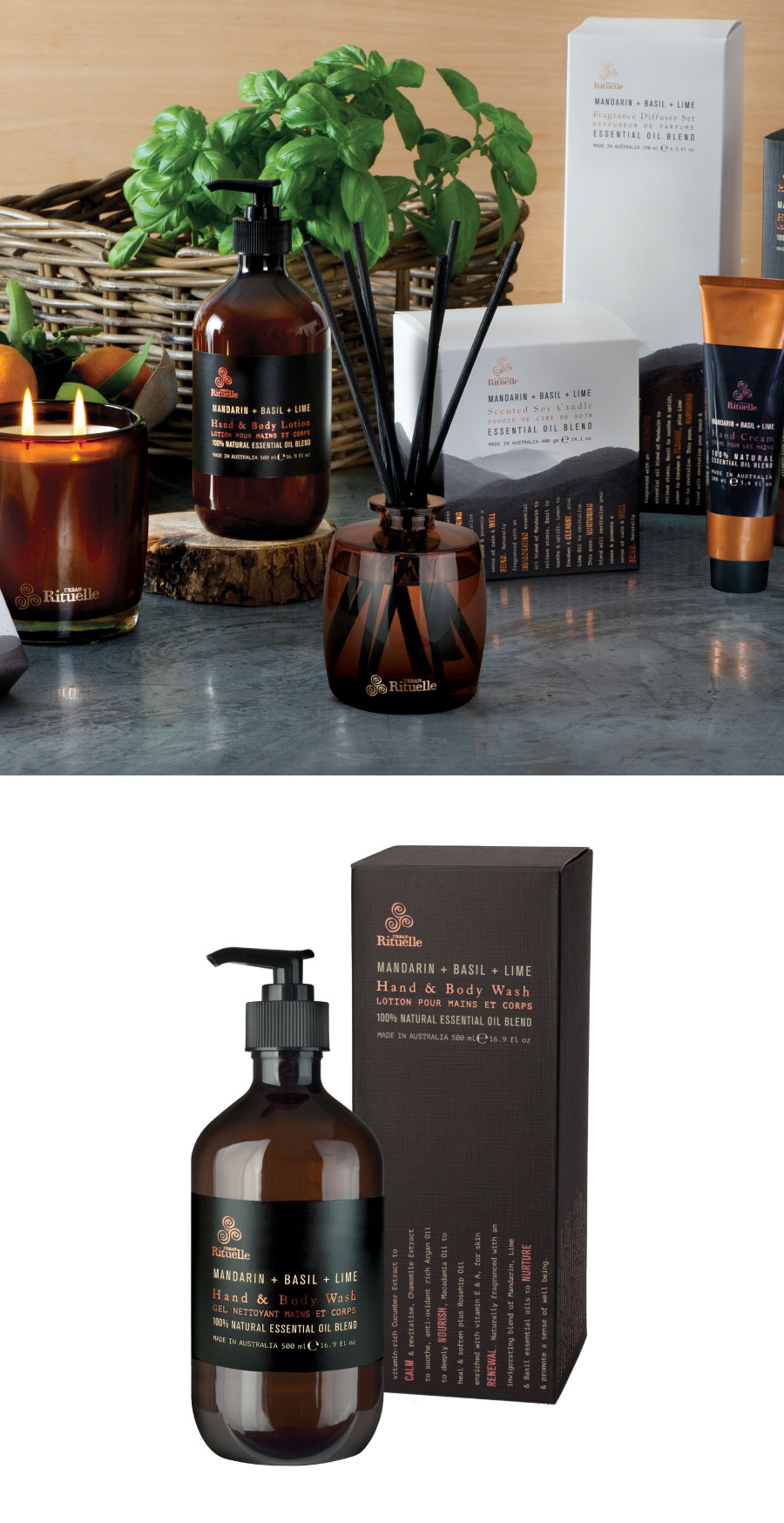 New Year, New Rituals. Equilibrium Hand & Body Wash