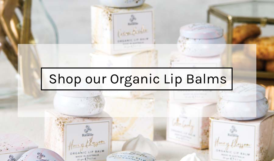 Shop our Organic Lip Balms